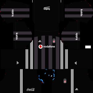 DLS Beşiktaş Deplasman Forma