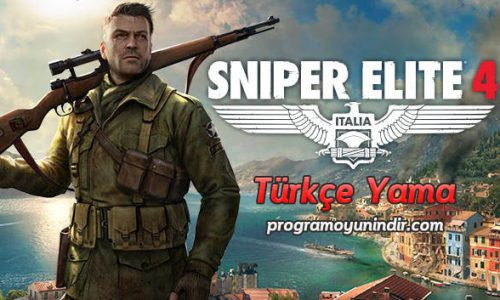 Sniper Elite 4 Türkçe Yama indir
