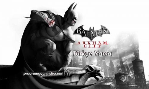 Batman Arkham City Türkçe Yama indir