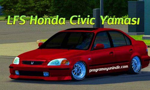LFS Honda Civic Yaması indir