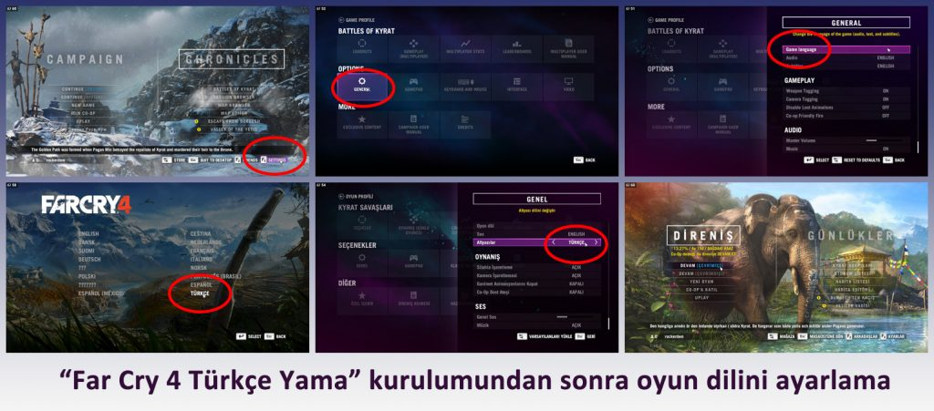 Far Cry 4 Türkçe Yama Nasıl Yapılır