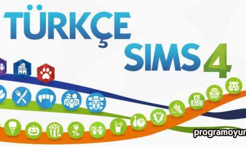 The Sims 4 Türkçe Yama indir